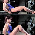 Unoszenie kolan w siadzie - jak ćwiczyć