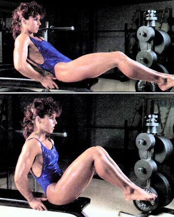 Unoszenie kolan w siadzie – jak ćwiczyć