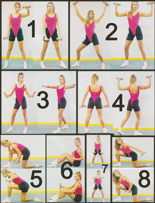 Schemat treningu dla kobiet