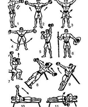 Prawidłowe ćwiczenia na barki