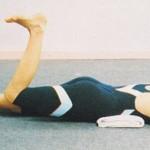 Uginanie nóg w pozycji leżącej