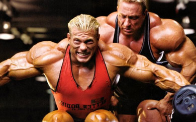 Mięśnie naramienne – Głowa środkowa i tylna