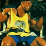 Dave Fisher - trening tricepsów