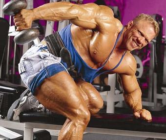 Najlepsze ćwiczenia na tricepsa – Dave Fisher