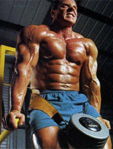 Pompki na poręczach – triceps