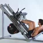 Mięśnie czworogłowe ud - Wyciskanie nogami